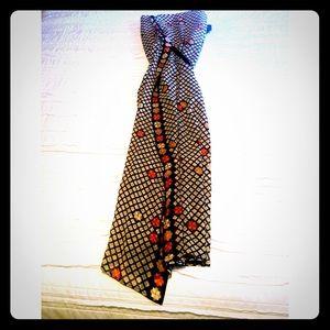 ❤️HOST PICK❤️Designer ONE OF A KIND Silk Dress‼️